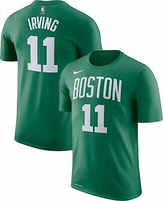 6e52aa6cb Brand New Nike NBA Boston Celtics Kyrie Irving  11 Dri-FIT Player Green T