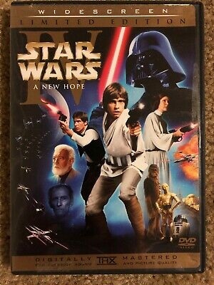 Star Wars: A New Hope (DVD, 2006, 2-Disc Set, Limited Edition Widescreen)