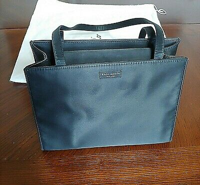 Kate Spade NEW YORK  Black Nylon Handbag Tote Purse
