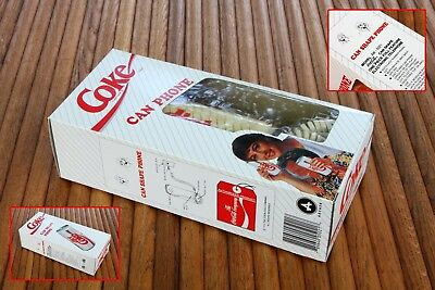 Vintage 1994 Diet Coke Can Shaped Phone Desk/Table Top NEW IN BOX AW-5021 LQQK!!