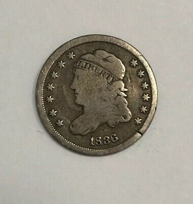1836 Bust Half Dime - Good Condition