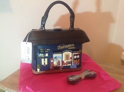 Antique Shop Grab Bag & Strap New, With Tags Cost £104