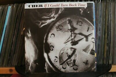 """7"""" Single Cher - If I Could Turn Back Time"""