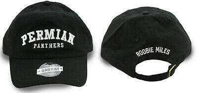 acc19ce756f09 Friday Night Lights Permian Panthers Football Movie Strapback Hat Dad Cap