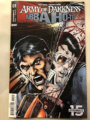 ARMY OF DARKNESS BUBBA HOTEP #4 1:20 Robert Hack Virgin Variant Dynamite NM