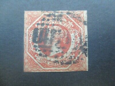 NSW Stamps: 1/- Red Imperf Used  - Rare  (o260)