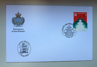 2017 San Marino Christmas First Day Cover