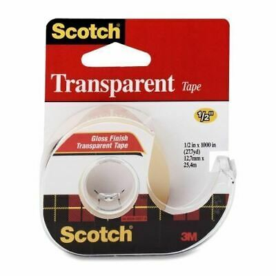 3M Scotch Transparent Tape with Dispenser 106NA