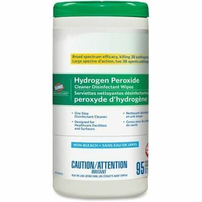 Clorox Healthcare Hydrogen Peroxide Cleaner Disinfecting Wipes 95ct Cannister 01