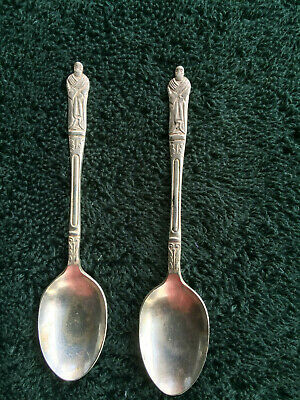 Antique Original tea spoons- 2 as per photos some wear as expected with the age