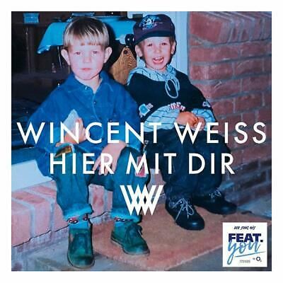 Wincent Weiss - Hier Mit Dir (2-Track)   Cd Single New!