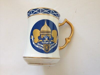 A rare unusual 1981 Royal Commemorative Mug for the wedding of Prince Charles