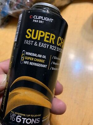 Cliplight 981 Super Change Fast and Easy R22 System Retrofit
