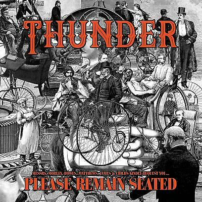 Thunder - Please Remain Seated (Limited Colored Edition)  2 Vinyl Lp New!
