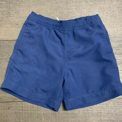 39e016aad3 BABY GAP BOYS Swim Trunks Navy Shorts Toddler Boy Size 3 Swimwear ...