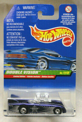 2000 Hot Wheels Treasure Hunt Double Vision On International Card, Card Creased