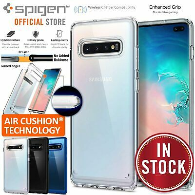 Samsung Galaxy S10/Plus S10e S9 S8 Case Genuine SPIGEN Ultra Hybrid Hard Cover