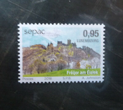 2016 Luxembourg Sepac The Four Seasons Mint Stamp Mnh