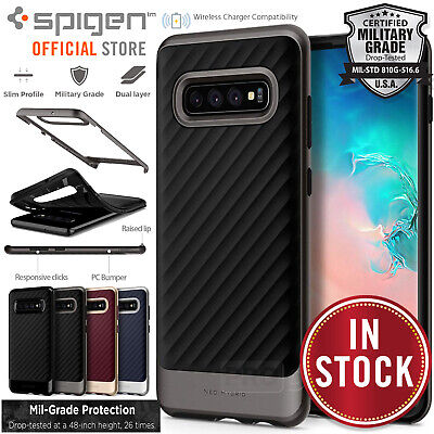 Samsung Galaxy S10/Plus S10e Case Genuine SPIGEN Neo Hybrid /NX Shockproof Cover