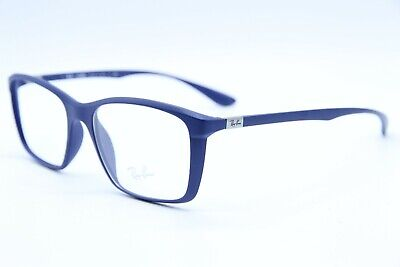 df4ab01bcdce NEW RAY-BAN RB 7036 5439 BLUE AUTHENTIC EYEGLASSES RX RB7036 Rx 55 ...
