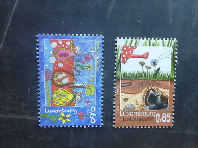 2014 Luxembourg Treasures Of The Soil Set 2 Mint Stamps Mnh