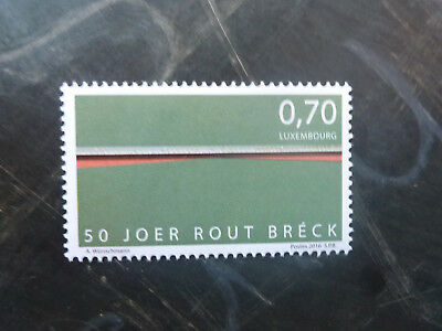 2016 LUXEMBOURG 50th ANNIV THE RED BRIDGE MINT STAMP MNH