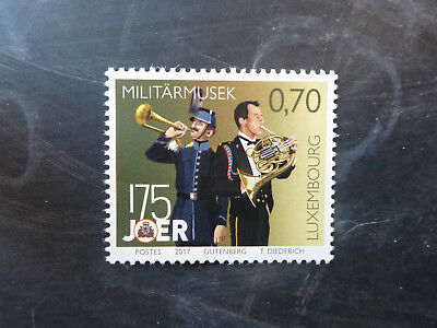 2017 Luxembourg Military Service Set Of 2 Mint Stamps Mnh