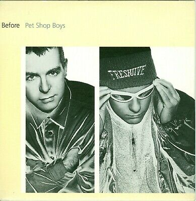 Pet Shop Boys, Rare Dutch 2-Track Single CD, Before, Cardsleeve