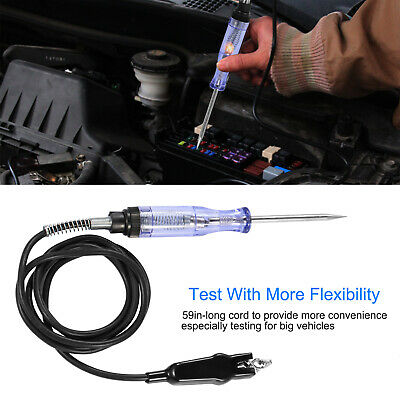 6-24V DC Auto Circuit Tester Car Voltage Tester Heavy Duty Long Probe With Light