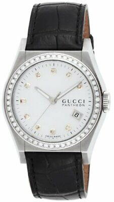 75e8fd77eae GUCCI PANTHEON COLLECTION Pearl Edition Ladies Watch Date Stainless ...