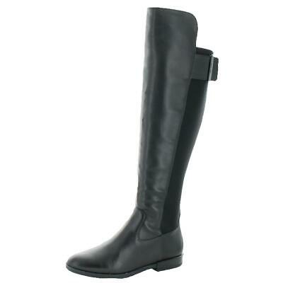eb1c2c13b74 CALVIN KLEIN WOMENS Priscila Black Over-The-Knee Boots 5 Medium (B