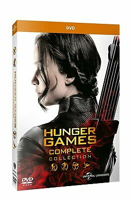 Dvd Hunger Games - Complete Collection (4 Dvd)