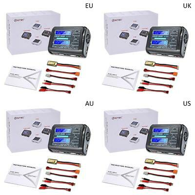 HTRC C240 DUO AC 150W DC 240W Dual Channel 10A RC Balance lipo battery Charger