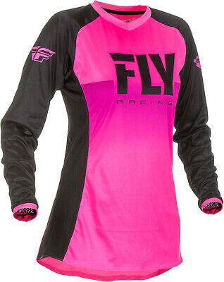 Fly Racing 2019 Women's Lite Racewear Jersey - Neon Pink/Black