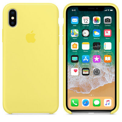 Lemonade GENUINE ORIGINAL Apple Silicone Case NEW iPhone X RRP $39