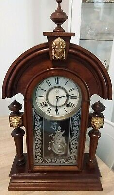 Ansonia King Mantle Clock In Working Order Excellent Condition