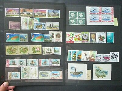 ESTATE: Norfolk Island Collection on Hagners - Must Have!! Excellent Item!(p981)