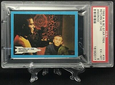 1969 Star Trek RETURN OF THE ANDROID #39 EXCELLENT-MINT 6 - A&BC garno PSA