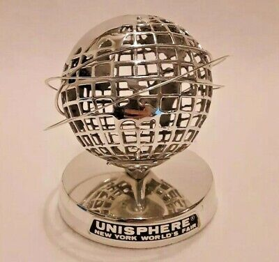 Unisphere Uss 1964-1965 New York Worlds Fair Collectible Figurine - Topping Inc
