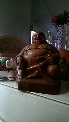 Rare Wooden Buddha 60+ Yrs Old