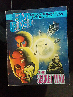 "Starblazer #178 ""THE SECRET WAR"" published by DC Thomson"