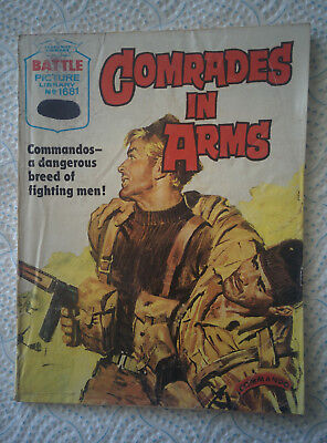 """Battle Picture Library #1681 """"COMRADES IN ARMS"""" dated 1984"""