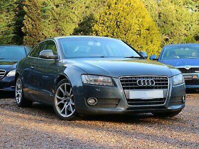 Audi A5 Sport Coupe Grey Diesel Auto