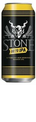 Stone Go To IPA Can 473mL PACK6 - Beer & Cider - Origin United States