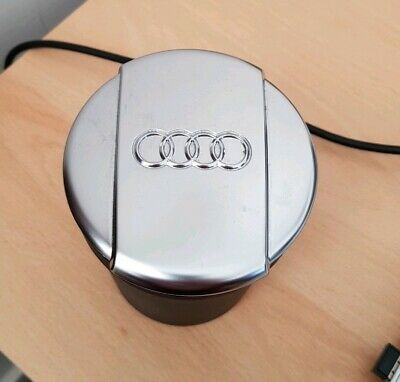 Genuine Audi Coin Holder Storage Cup Ashtray Cup