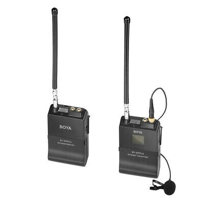 Lapel Wireless Microphone System for Smartphone DSLR Camera Audio Recorder LF882