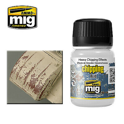 Ammo by Mig - Heavy Chipping Effects Fluid # MIG-2011