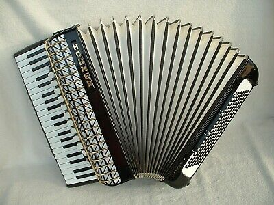HOHNER ATLANTIC IV N DeLuxe GERMANY PiANO AKKORDEON 120 BASS ACCORDiON Аккордеон