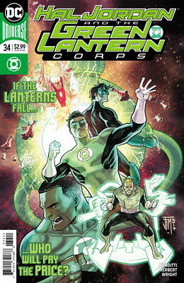 Hal Jordan And The Green Lantern Corps #34 Dc Universe - Boarded - Free Uk P+P