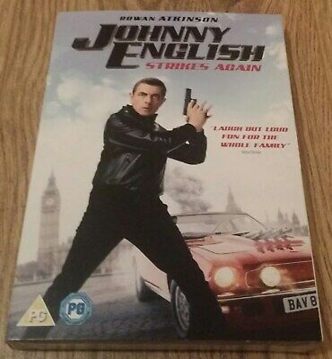 Johnny English Strikes Again DVD. (Rowan Atkinson, Ben Miller, Olga Kurylenko)